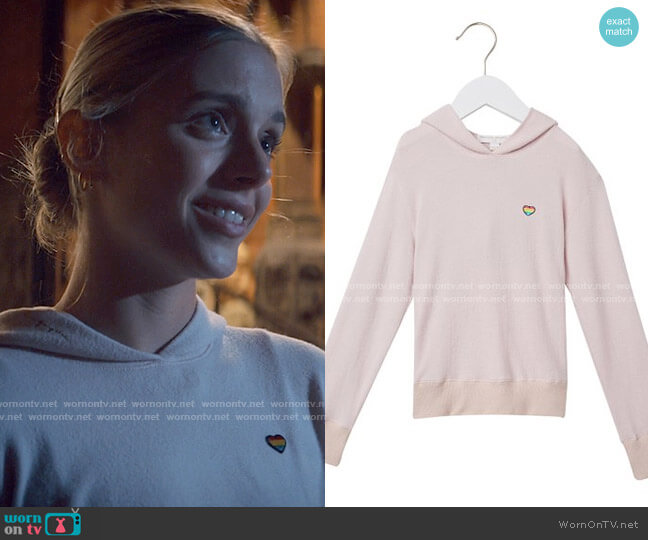 Spiritual Gangster Hana Hacci Hoodie worn by Bette Whitlaw (Casimere Jollette) on Tiny Pretty Things