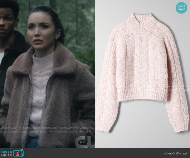 Melly Sweater by Sunday Best at Aritzia worn by Bess (Maddison Jaizani) on Nancy Drew