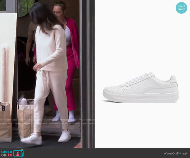 Puma GV Special+ Blank Sneakers worn by Selena Gomez  on Selena + Chef