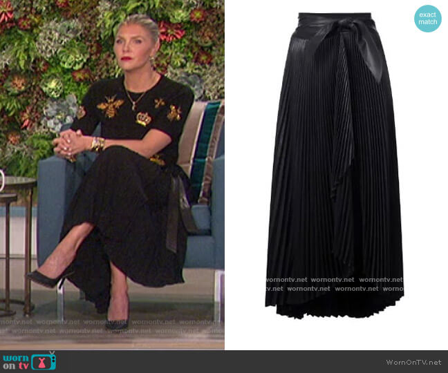 Pleated Skirt by A.L.C. worn by Amanda Kloots  on The Talk