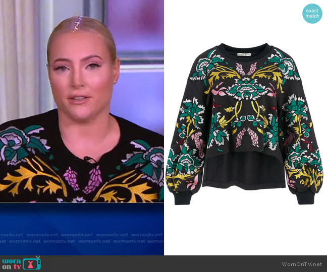 Turner Pullover Sweater by Munthe worn by Meghan McCain  on The View