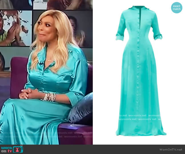 Sabra Dress by Andrea Iyamah worn by Wendy Williams  on The Wendy Williams Show