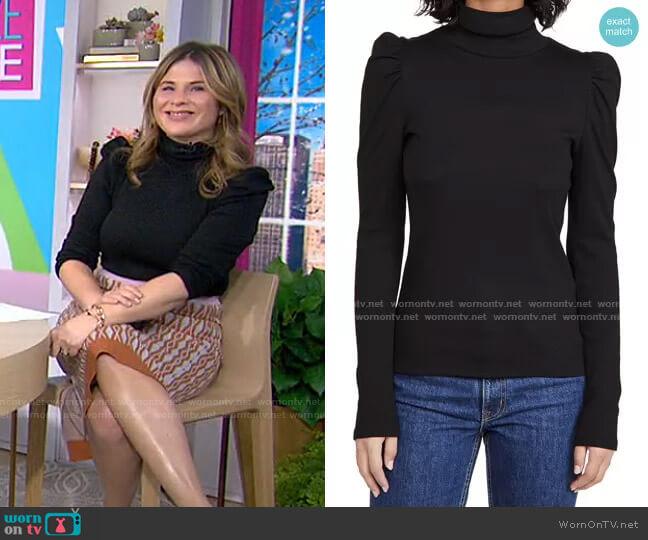 Cedar Turtleneck Sweater by Veronica Beard worn by Jenna Bush Hager  on Today