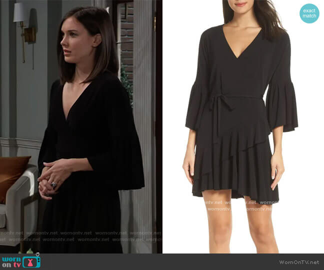 Ellette Dress by French Connection worn by Willow Tait (Katelyn MacMullen) on General Hospital