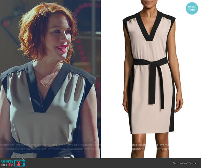 Hakordia Dress by Hugo Boss worn by Mary Andrews (Molly Ringwald) on Riverdale