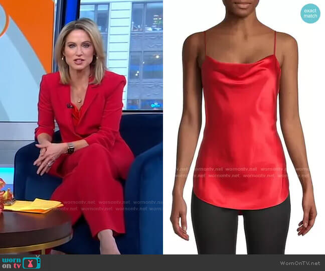 Marta Cami by Cinq a Sept worn by Amy Robach  on Good Morning America