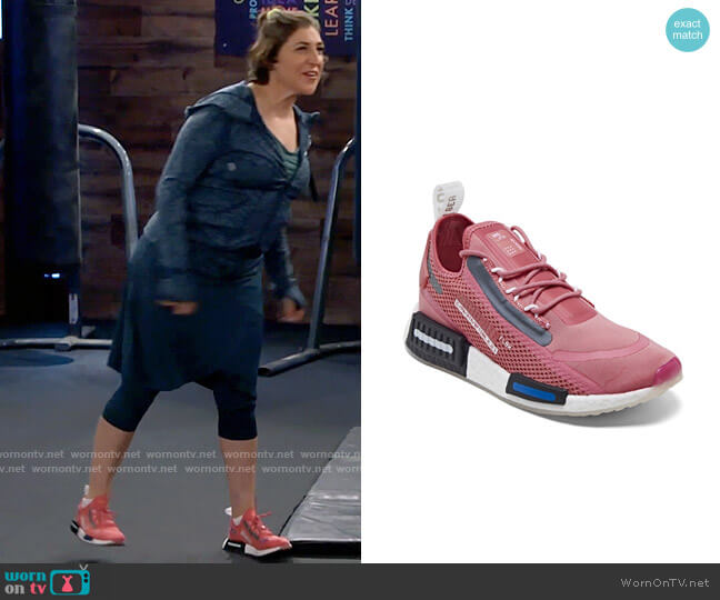 Adidas NMD R1 Spectoo Casual Sneakers worn by Kat Silver (Mayim Bialik) on Call Me Kat