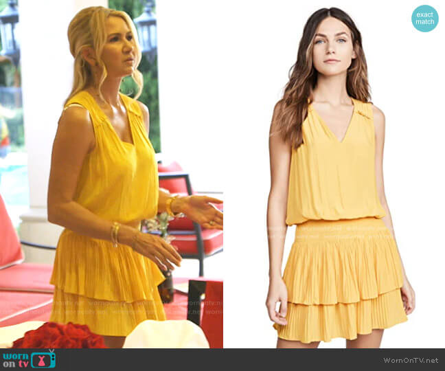 Caitlin Dress by Ramy Brook worn by Kary Brittingham  on The Real Housewives of Dallas