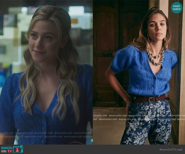 Perrine Jumper by Sezane worn by Betty Cooper (Lili Reinhart) on Riverdale