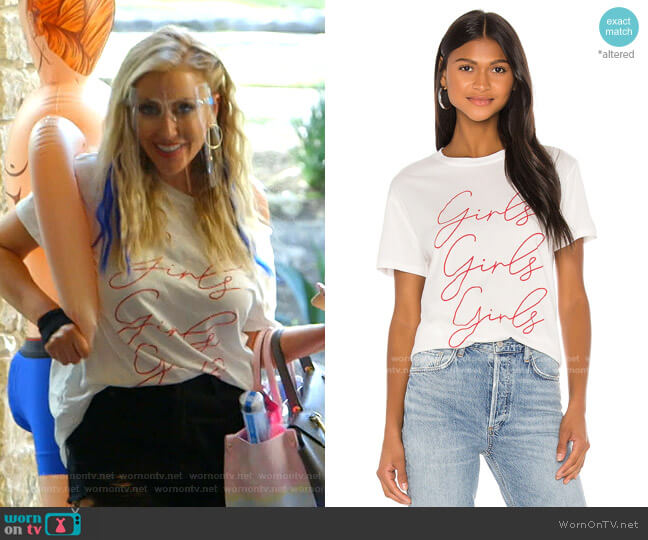 Thomas Tee by Show Me Your Mumu worn by Stephanie Hollman  on The Real Housewives of Dallas
