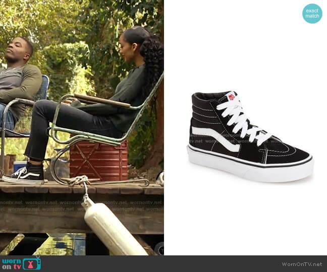 Sk8-Hi Sneaker by Vans worn by Olivia Baker (Samantha Logan) on All American