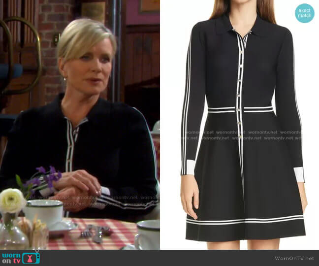 Sofiyya Dress by Ted Baker worn by Kayla Brady (Mary Beth Evans) on Days of our Lives