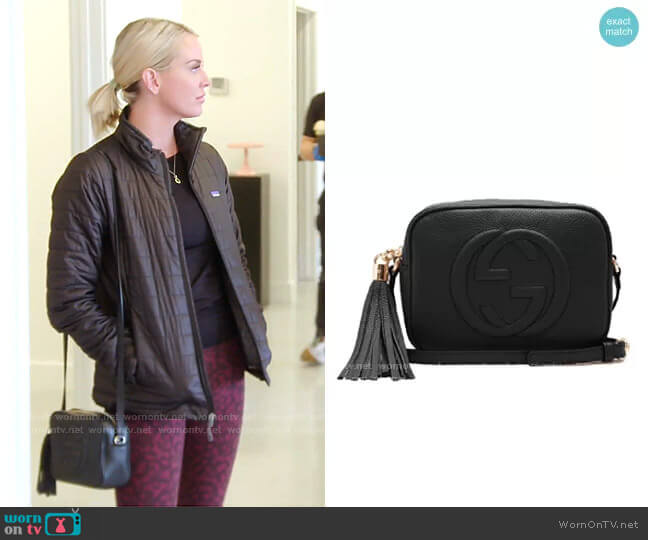 Soho GG Cross-Body Bag by Gucci worn by Whitney Rose  on The Real Housewives of Salt Lake City