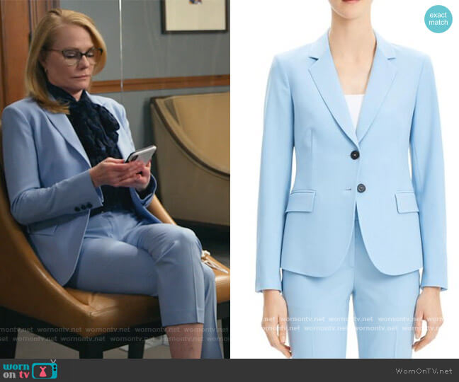 Carissa Blazer by Theory worn by Lisa Benner (Marg Helgenberger) on All Rise