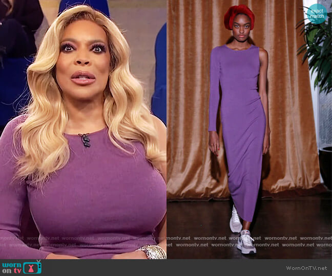 2020 Fall Collection by Victor Glemaud worn by Wendy Williams  on The Wendy Williams Show
