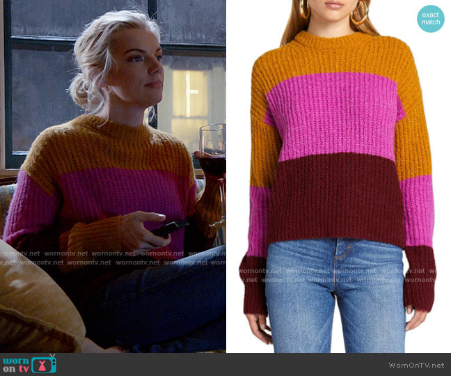 ALC Robertson Sweater worn by Sylvie Brett (Kara Killmer) on Chicago Fire