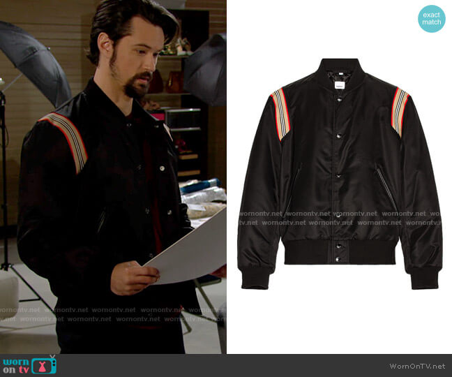 Burberry Harwell Jacket worn by Thomas Forrester (Matthew Atkinson) on The Bold and the Beautiful