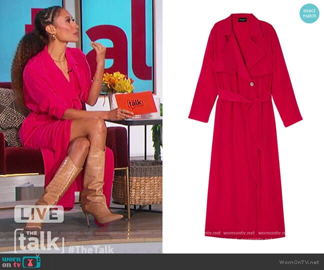 Tracee Coat by Ciara Chyanne worn by Elaine Welteroth  on The Talk