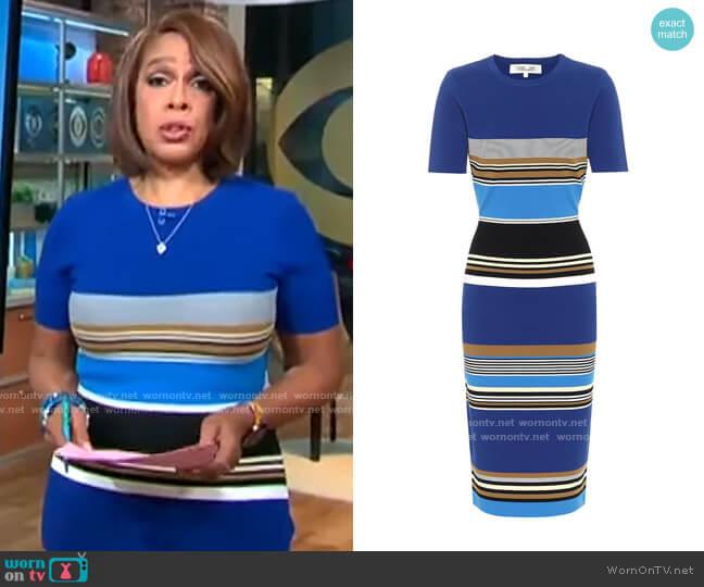 Diane von Furstenberg Dasha Dress worn by Gayle King  on CBS This Morning