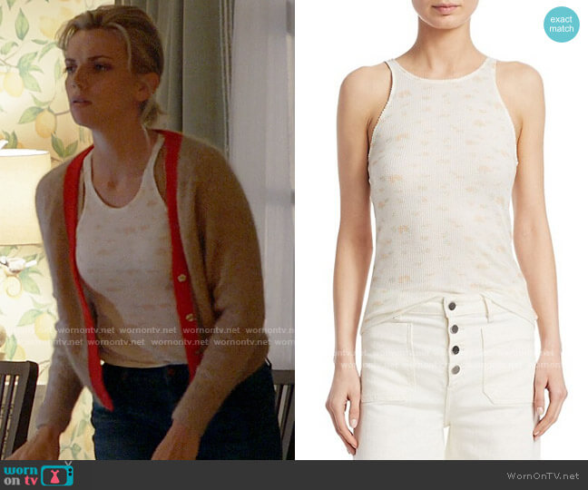 Elizabeth and James Berta Tank worn by Sylvie Brett (Kara Killmer) on Chicago Fire