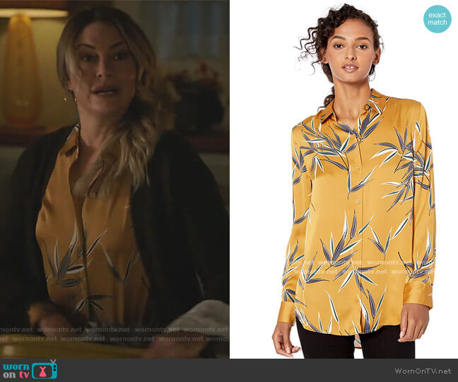 Floral Essential Shirt by Equipment worn by Alice Cooper (Mädchen Amick) on Riverdale