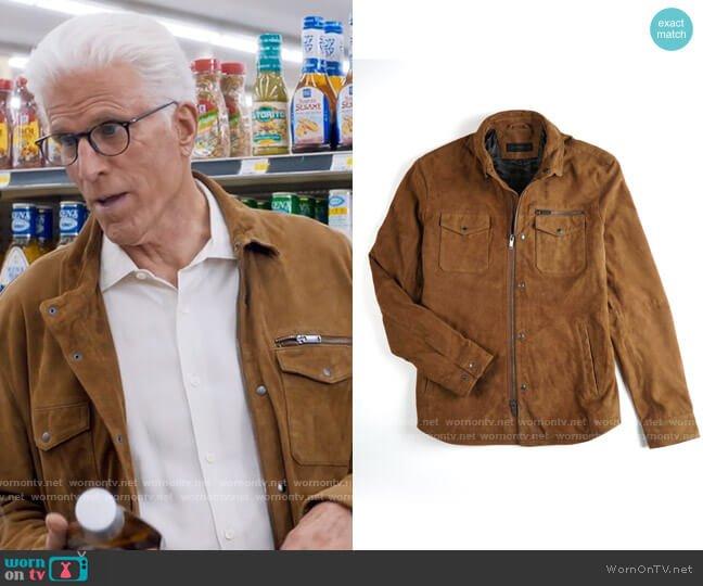 John Varvatos Star USA Shilo Jacket worn by Neil Bremer (Ted Danson) on Mr Mayor