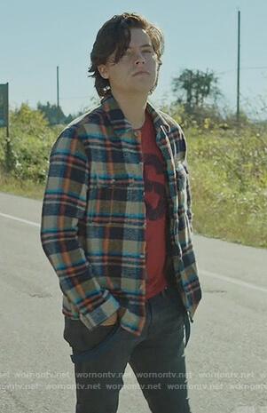 Juggerheads flannel shirt on Riverdale