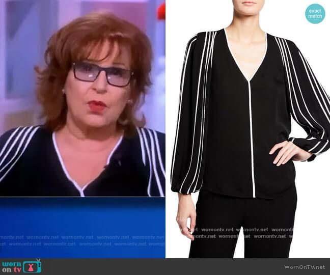 Marni Contrast Silk Blouse by Kobi Halperin worn by Joy Behar  on The View