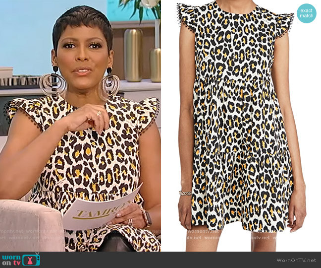 The Tent Dress by Marc Jacobs worn by Tamron Hall  on Tamron Hall Show
