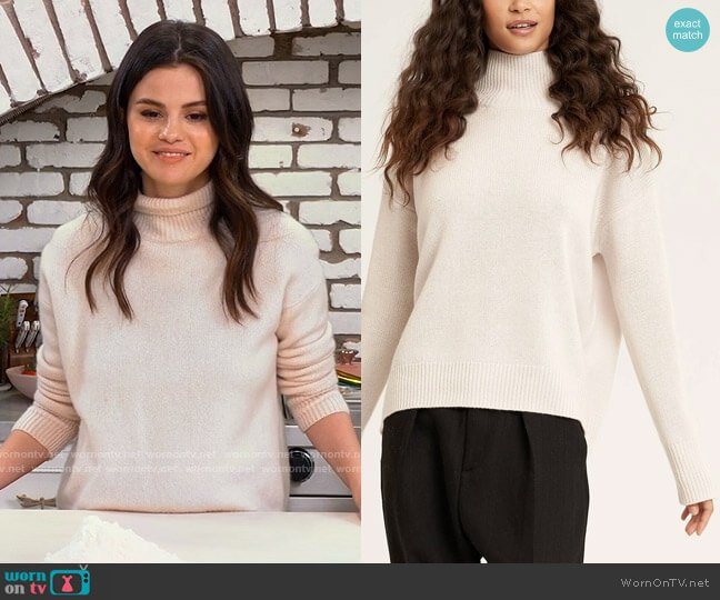 Naked Cashmere Joslyn Sweater worn by Selena Gomez  on Selena + Chef