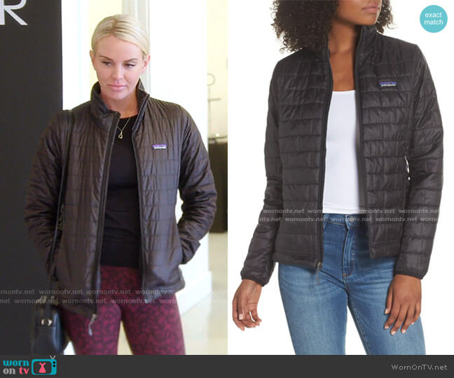 Nano Puff Jacket by Patagonia worn by Whitney Rose  on The Real Housewives of Salt Lake City