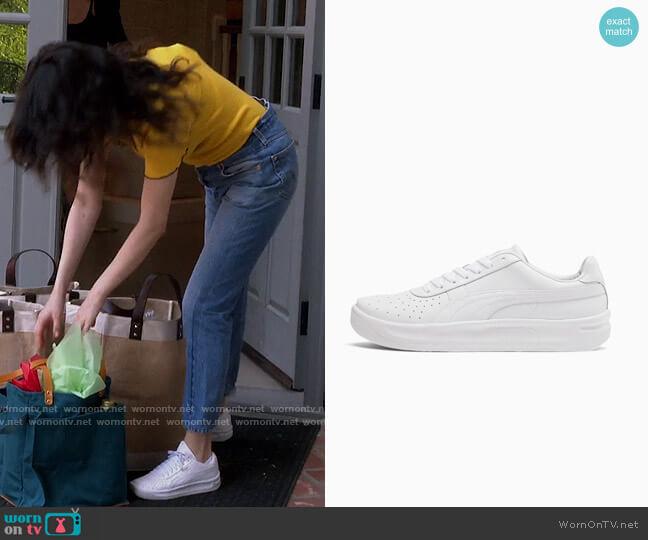 Puma GV Special+ Blank Sneakers worn by Selena Gomez  on Selena + Chef