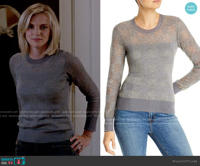Rag & Bone Charlotte Sweater worn by Sylvie Brett (Kara Killmer) on Chicago Fire