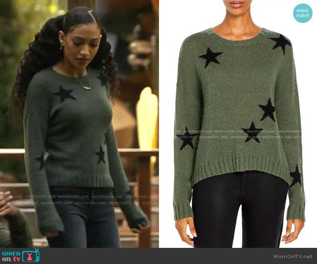 Perci Sweater by Rails worn by Olivia Baker (Samantha Logan) on All American
