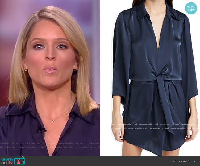 Penny Dress by Ramy Brook worn by Sara Haines  on The View