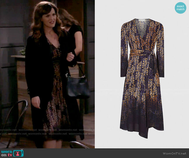 Reiss Esther Dress worn by Julia (Sara Rue) on B Positive