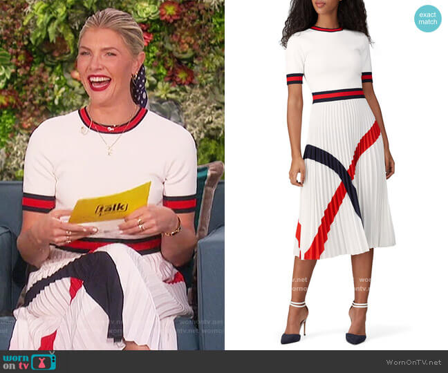 Fynlie Dress by Ted Baker worn by Amanda Kloots  on The Talk