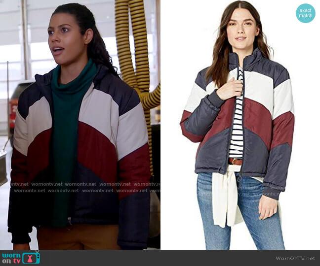 The Fifth Label Atom Jacket worn by Kylie Estevez (Katelynn Shennett) on Chicago Fire