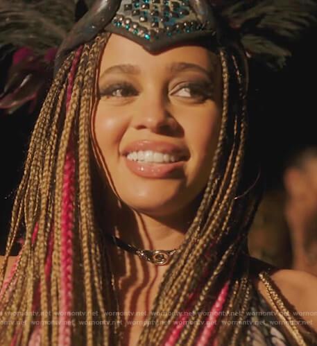Toni's snake choker necklace by Riverdale on Riverdale