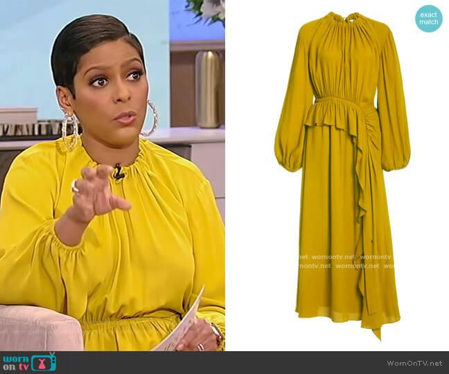 Odette Dress by Ulla Johnson worn by Tamron Hall  on Tamron Hall Show