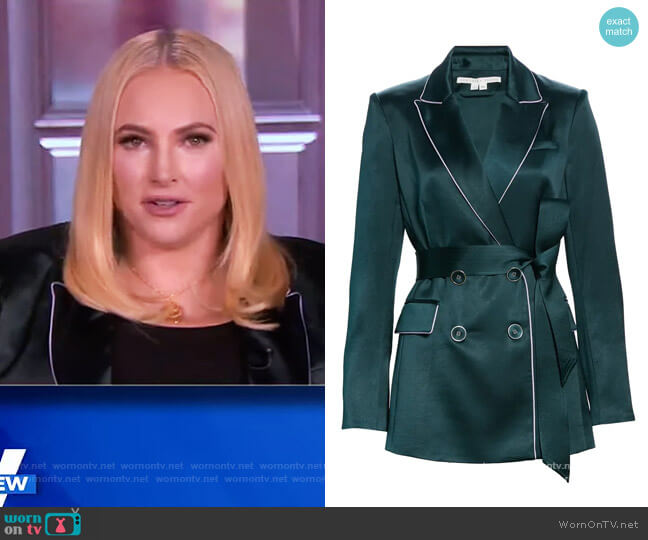 Eiza Jacket by Veronica Beard worn by Meghan McCain  on The View