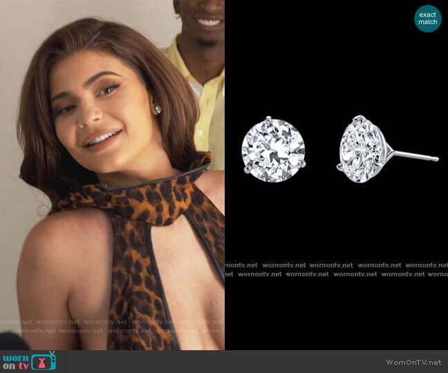 Classico J-5962 Earrings by Harry Kotlar worn by Kylie Jenner  on Keeping Up with the Kardashians