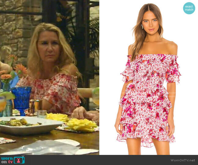 Inga Dress by Misa Los Angeles worn by Kary Brittingham  on The Real Housewives of Dallas