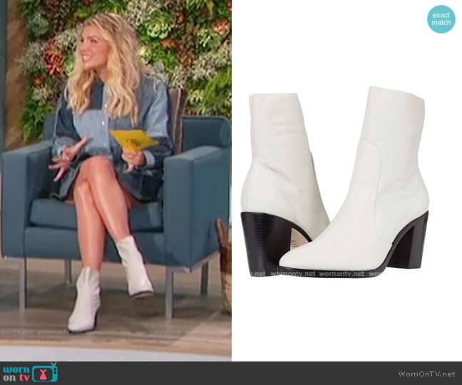 Alysha Boots by Schutz worn by Amanda Kloots  on The Talk
