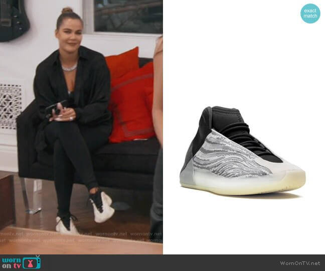 Yeezy Quantum Sneakers by Adidas worn by Khloe Kardashian  on Keeping Up with the Kardashians