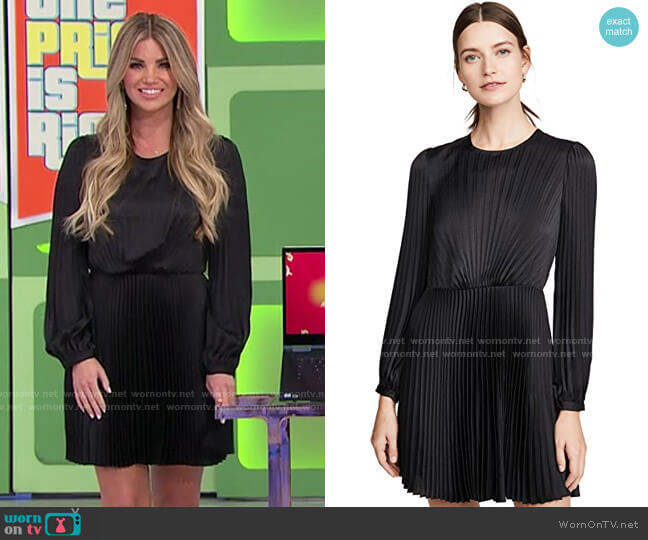ALC Tavi Dress worn by Amber Lancaster  on The Price is Right