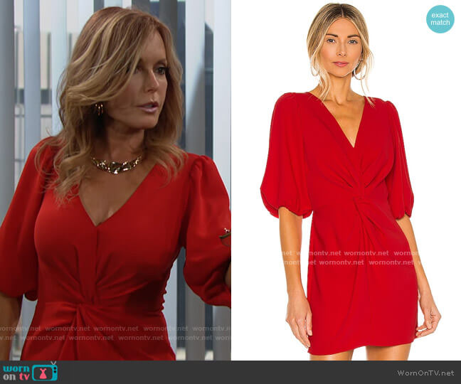 Amanda Uprichard Susannah Dress worn by Lauren Fenmore (Tracey Bregman) on The Young & the Restless