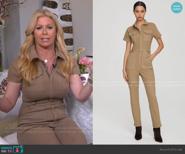 Fit For Success Jumpsuit by Good American worn by Jill Martin  on Today