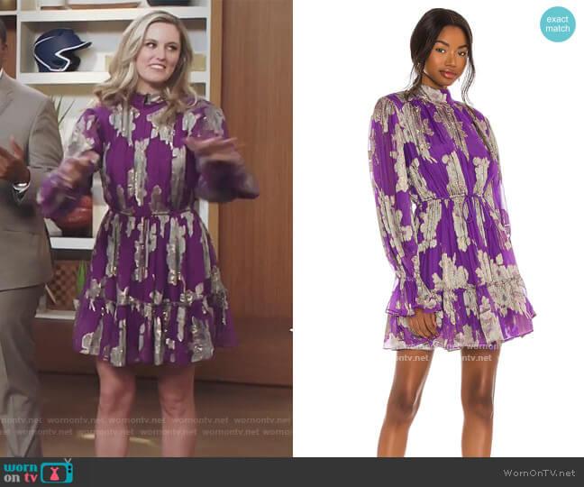 Elea Mini Dress by Hemant and Nandita worn by Tami (Taylor Louderman) on Kenan