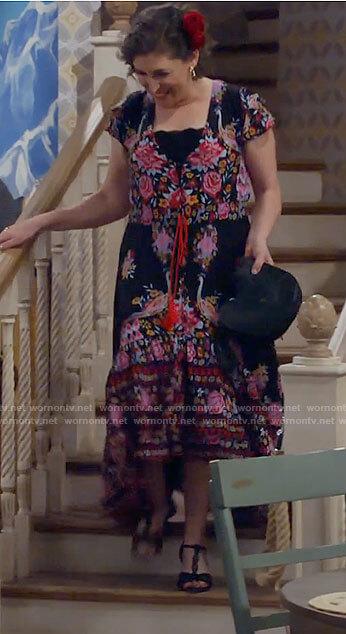 Kat's salsa dress on Call Me Kat